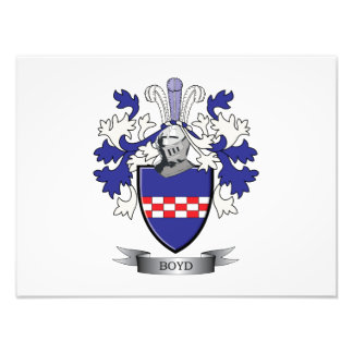 Boyd Family Crest Coat of Arms Photo