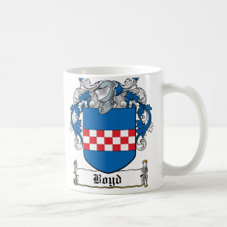 Boyd Family Crest Coffee Mug