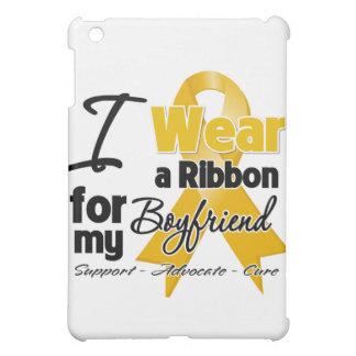 Boyfriend - Appendix Cancer Ribbon iPad Mini Covers