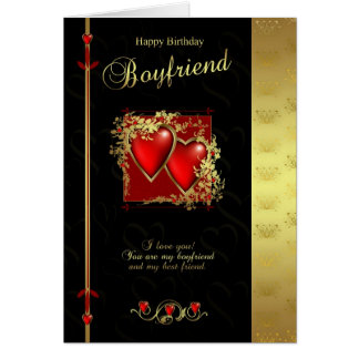 Boyfriend Birthday Card - Happy Birthday Boyfriend
