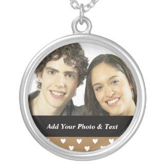 Boyfriend Girlfriend Photo Necklace