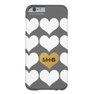 Boyfriend Girlfriend Wedding Love Heart Gift Barely There iPhone 6 Case