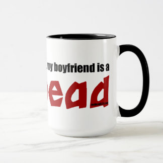 Boyfriend is a Redhead Mug