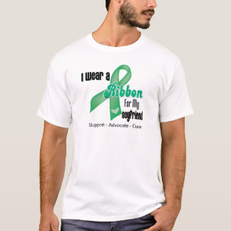 Boyfriend - Liver Cancer Ribbon T-Shirt