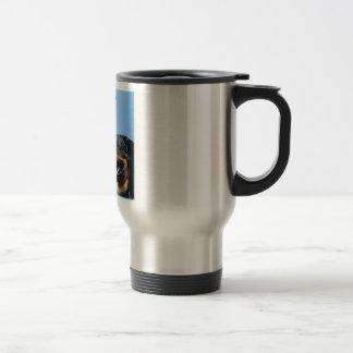 Boyfriend Poem - Rottweiler Design Travel Mug