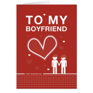 Boyfriend Valentine's Day Card