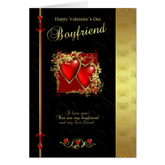 Boyfriend Valentine's Day Card - Happy Valentine's