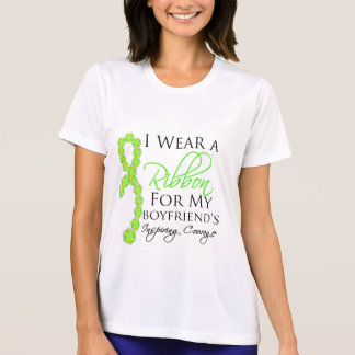 Boyfriend's Inspiring Courage - Lymphoma Tee Shirts