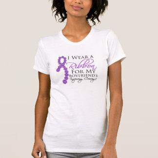 Boyfriend's Inspiring Courage - Pancreatic Cancer Tshirt