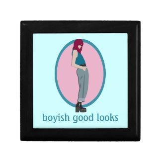 Boyish Good Looks Keepsake Box