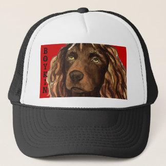 Boykin Spaniel Color Block Trucker Hat