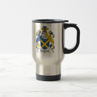 Boyland Family Crest Travel Mug