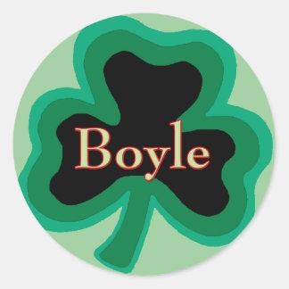 Boyle Family Stickers