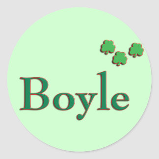 Boyle Family Stickers