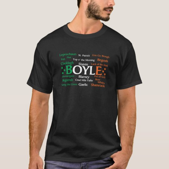 Boyle Irish Pride T-Shirt