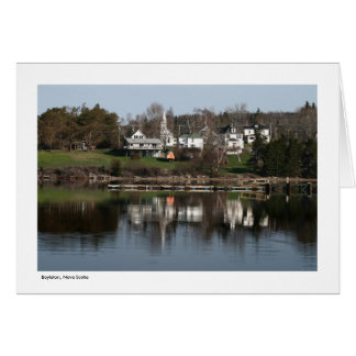 Boylston, Nova Scotia - Greeting Card