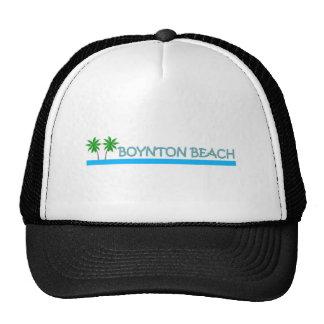 Boynton Beach, Florida Mesh Hats