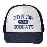 Boynton Bobcats Middle Ithaca New York Cap