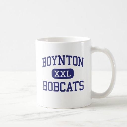 Boynton Bobcats Middle Ithaca New York Basic White Mug
