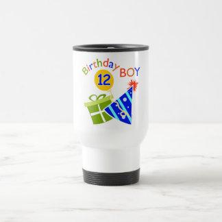Boys 12th Birthday Coffee Mugs