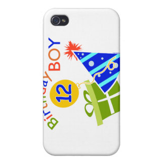 Boys 12th Birthday iPhone 4 Cover