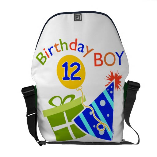 Boys 12th Birthday Messenger Bags