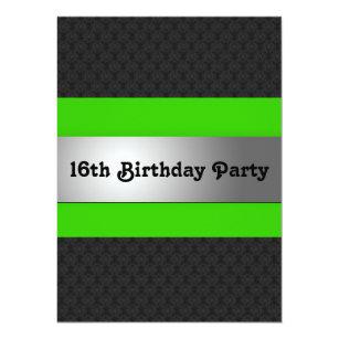 Boys sweet 16 invitations zazzle boys 16th birthday party invite filmwisefo
