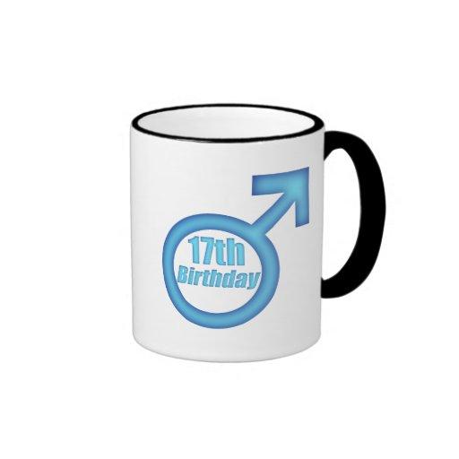 Boys 17th Birthday Gifts Coffee Mug