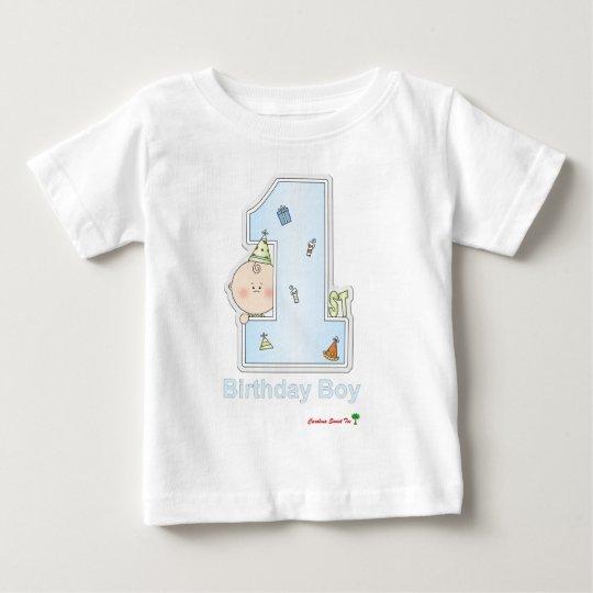 Boy's 1st Birthday Baby T-Shirt