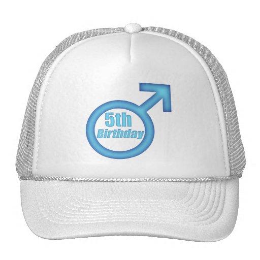 Boys 5th Birthday Gifts Mesh Hats
