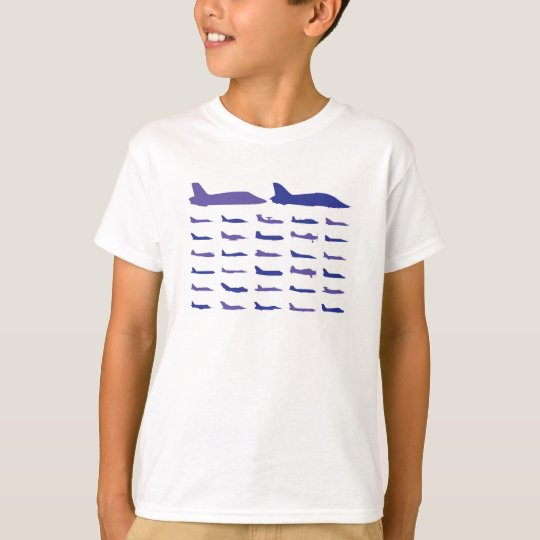 Boy's Aeroplanes Graphic T-Shirt