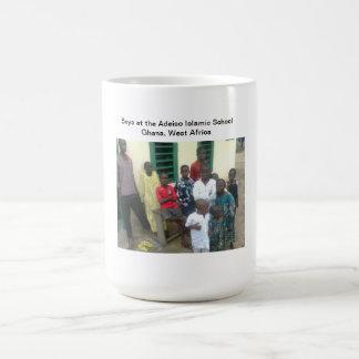 Boys at Adeiso Islamic School Basic White Mug