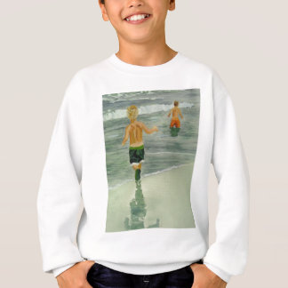 Boys at the beach sweatshirt