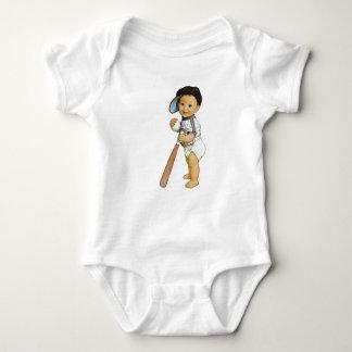 Boy's Baseball Body Suit Baby Bodysuit