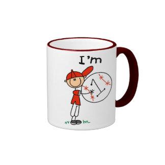Boy's Baseball I'm 1 Coffee Mugs