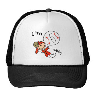 Boy's Baseball I'm 5 Hats