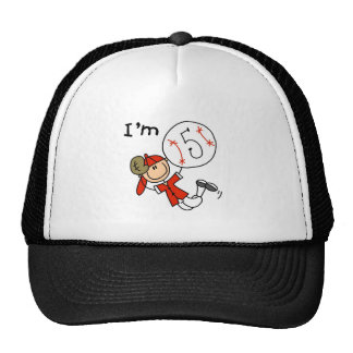 Boy's Baseball I'm 5 Tshirts and Gifts Trucker Hat