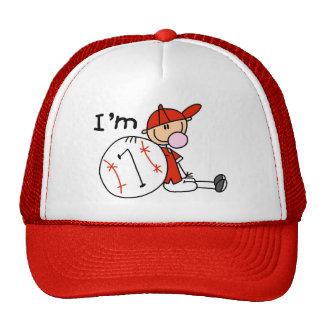 Boy's Baseball I'm 7 Trucker Hats