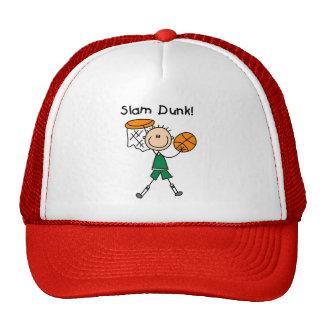 Boys Basketball Slam Dunk Trucker Hats