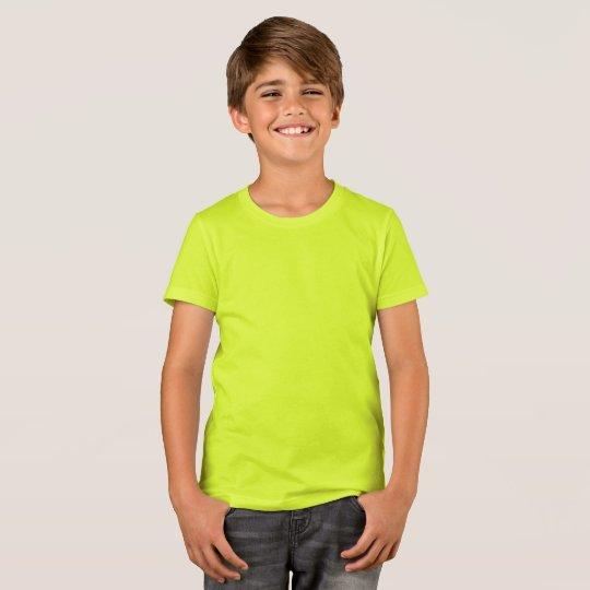 Bella+Canvas Crew T-Shirt, Neon Yellow