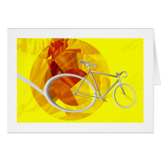 Boy's Bicycle Birthday Greeting Card