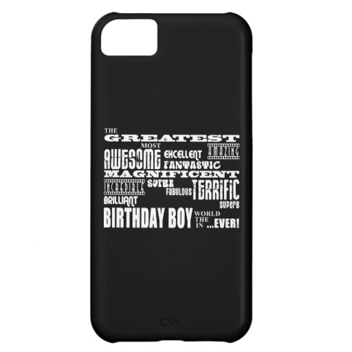 Boys Birthdays : Greatest Most Birthday Boy Cover For iPhone 5C