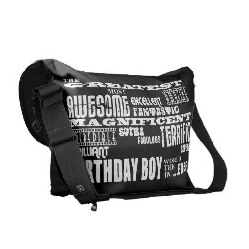 Boys Birthdays : Greatest Most Birthday Boy Messenger Bag