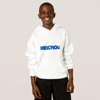 Boys blackout killer hoodie #white