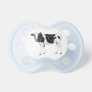 Boy's blue pacifier