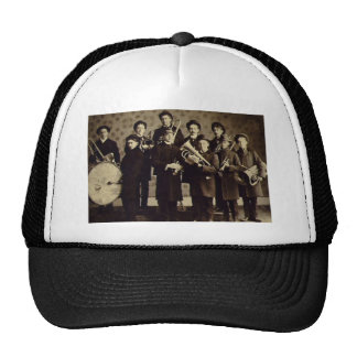 Boys Brass Band, Warsaw Indiana Vintage Cap