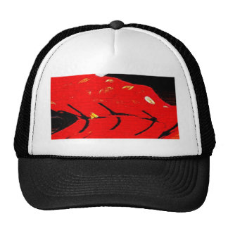 Boy's Chinese Costume, abstract 2 Cap