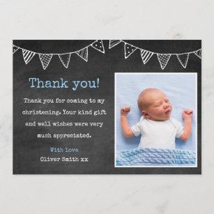 Baptism Thank You Cards Zazzle Uk