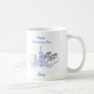 Boys Christening Wish Coffee Mugs