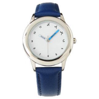 Boys Custom Personalized Name Kids Wrist Watch